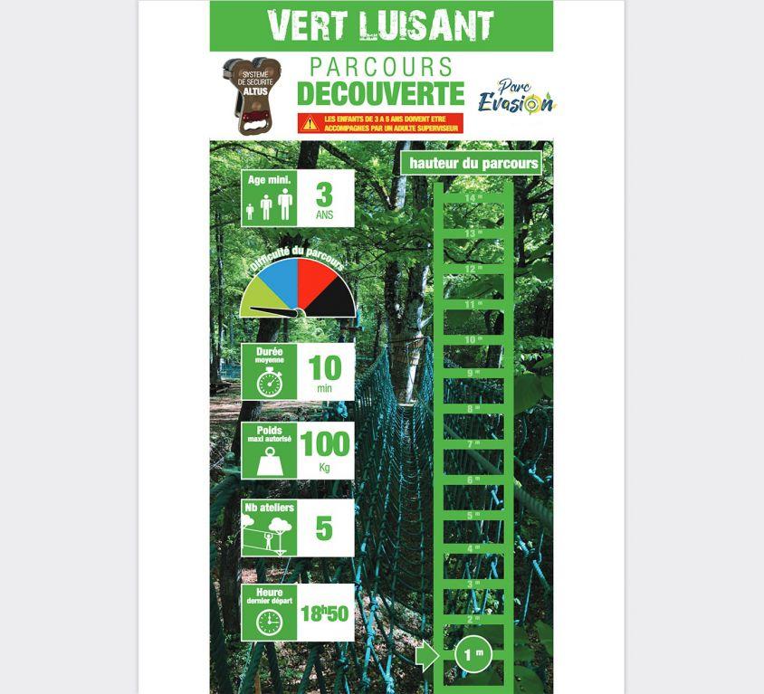 Découverte Vert Luisant