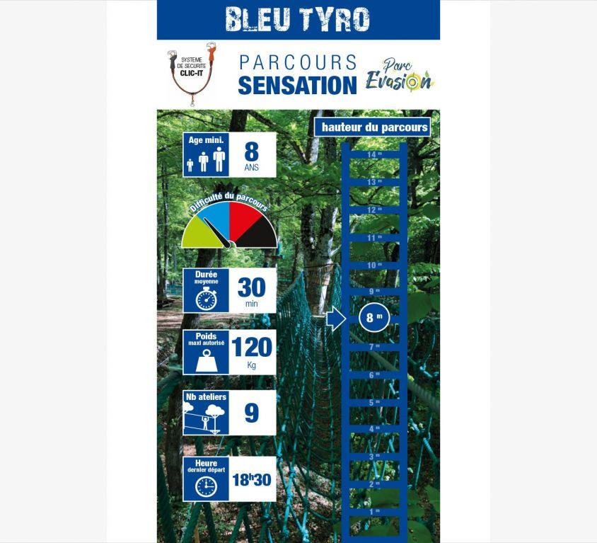 Sensation Bleu Tyro